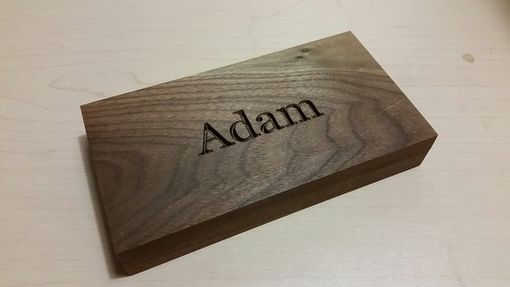 Custom Made Personalized Check Sized Gift Box