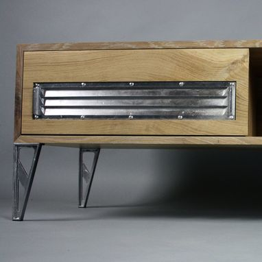 Custom Made Industrial Modern Tv Cabinet