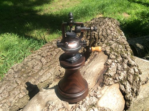 Custom Made Antique Style Walnut Peppermill