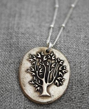 Custom Made Bronze - Japanese Bonsai Tree Necklace - $50