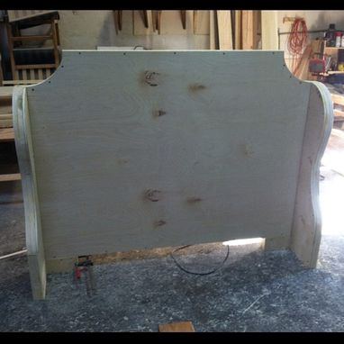 Custom Made Winged Headboard