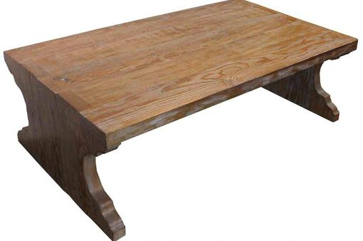 Custom Made Abbey Reclaimed Wood Coffee Table