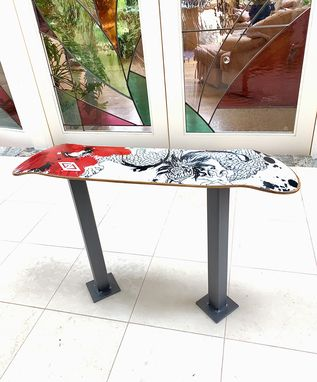 Custom Made Skateboard Table
