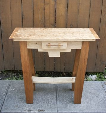 Custom Made Miter Console Table