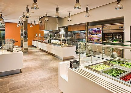 Handmade Corporate Cafeteria By Salon Interiors