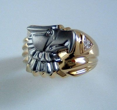 Custom Made Eagle Ring