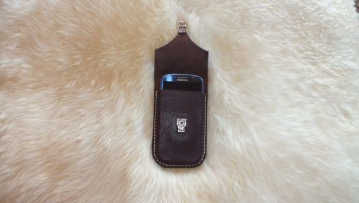 Custom Made Leather Phone Holster Or Case