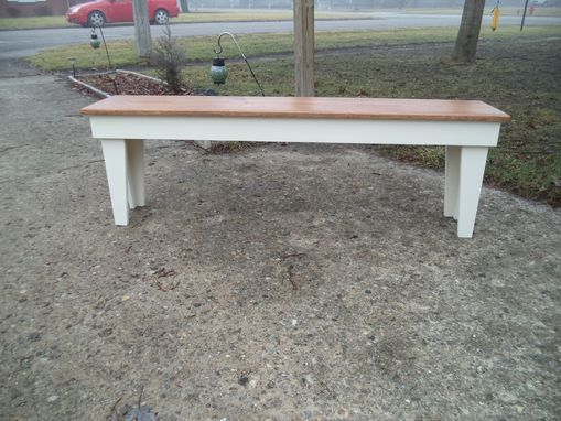 Custom Made Benches, Clear Span No Shelve, Recycled Material