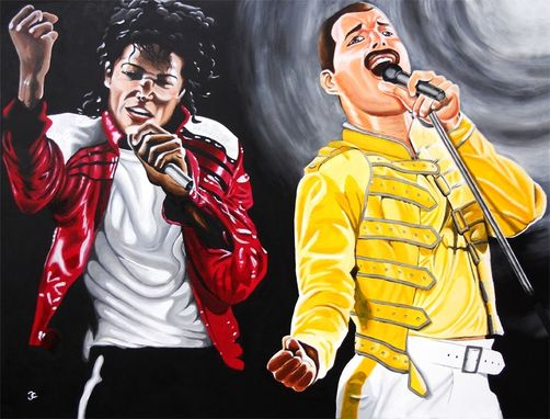 Custom Made Michael Jackson / Freddie Mercury