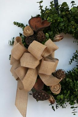 Custom Made Eucalyptus Wreath