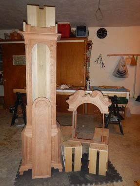 Hand Crafted Grandfather Clock Kit by Naples Precision ...