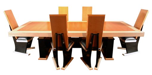 Custom Made Kousou Table & Chairs