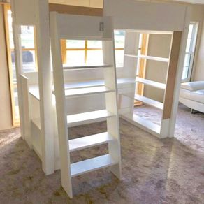 kids bedroom furniture with desk. kids loaded loft bed with desk bookcases drawer u0026 corkboard by terry stone bedroom furniture k