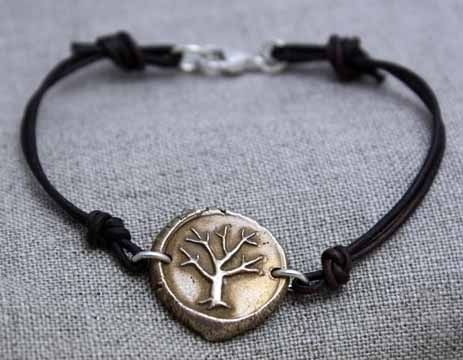 Custom Made Bronze - Tree Of Life Bracelet - $55