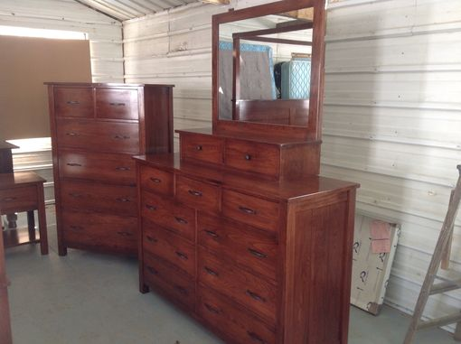 Custom Made Canopy Bedroom Set