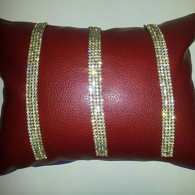 Custom Made Red Scarlet Throw Pillows