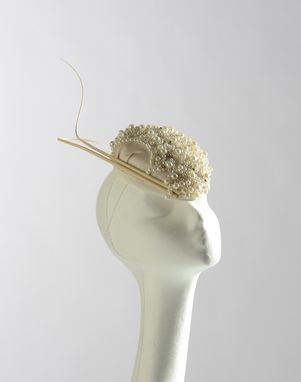 Custom Made Tear-Drop Bridal Fascinator