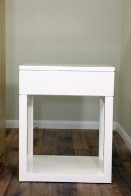 Custom Made Modern Side Table