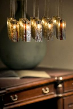 Custom Made Pendant Lighting - Winter Blossom