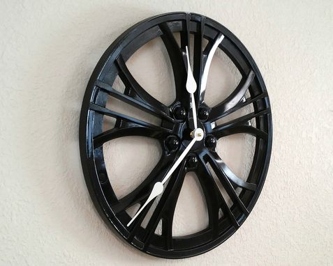Custom Made Automotive Wheel Clock