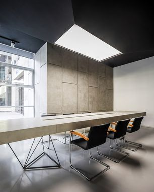Custom Made Concrete Conference Table