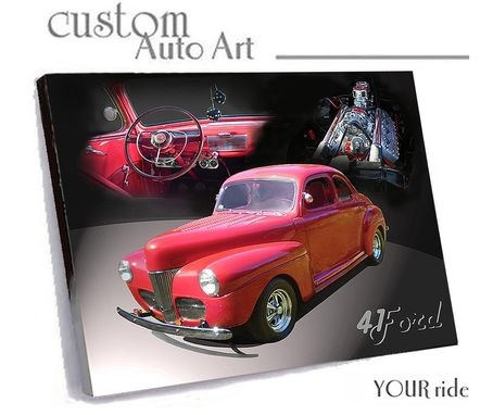 Custom Made Your Favorite Photo To Canvas Art / Free Shipping