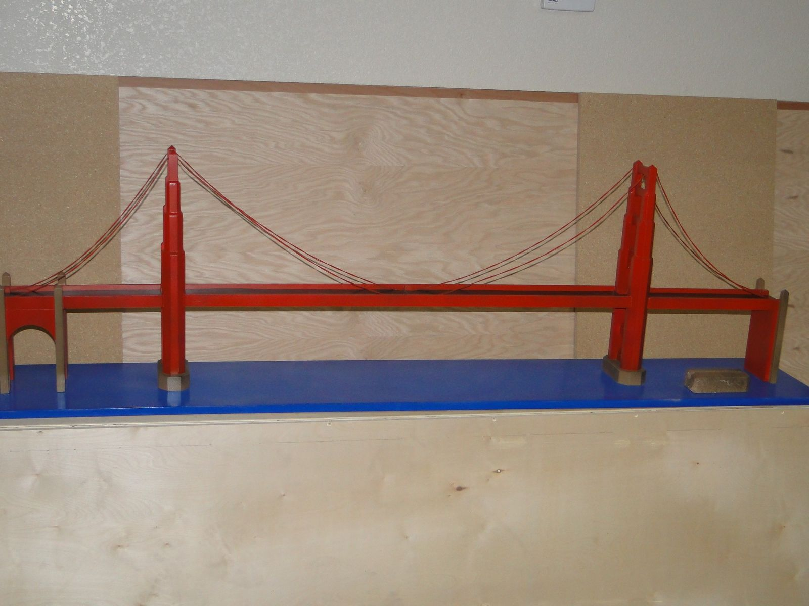 Custom Miniature Golden Gate Bridge By Pascal S Workshop