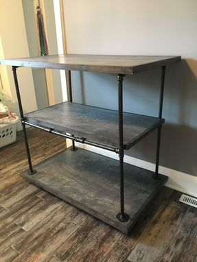 Custom Made Laundry Cart