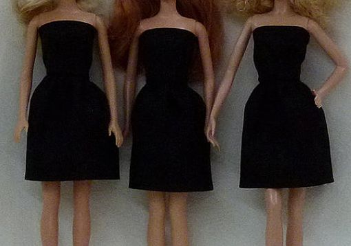 "Custom Made 11.5""  Fashion Doll Dresses To Decorate"