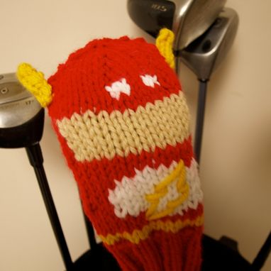 Custom Made The Flash Golf Club Cover
