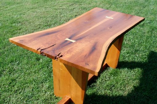 Custom Made Natural Edge Cherry Table