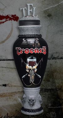 Custom Made Urn For Trocar Motorcycle Club