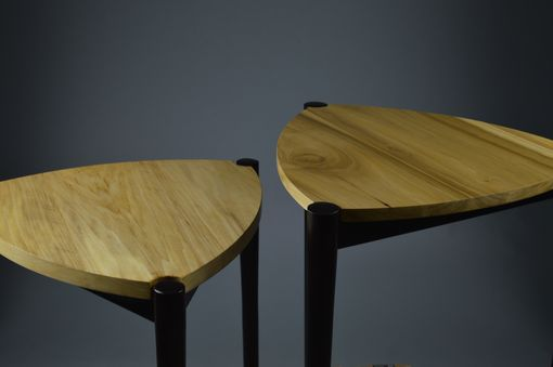 Custom Made Triple Crown Accent Table