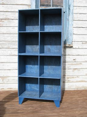 Custom Blue Osb Cubby Bookcases By Modular Osb Custommade Com