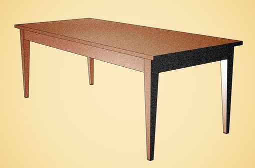 Custom Made Sipo Dining Table