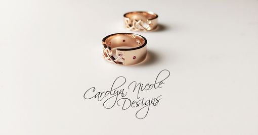 Custom Made Celtic Wedding Bands