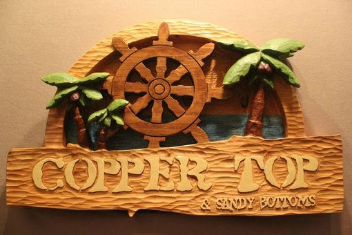 Custom Made Custom Wood Signs | Pirate Signs | Island Signs | Tropical Signs | Beach Signs