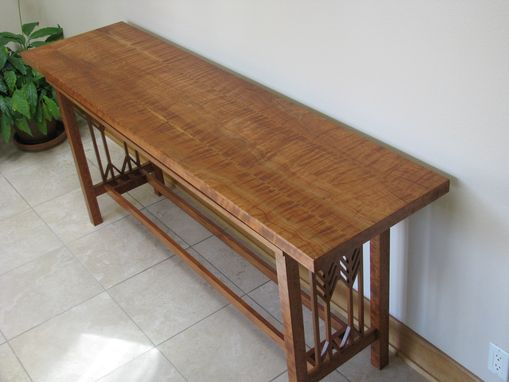 Custom Made Prairie Style Hall Or Sofa Table