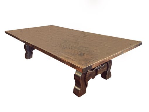 Custom Made Yugo Alder Rustic Dining Table