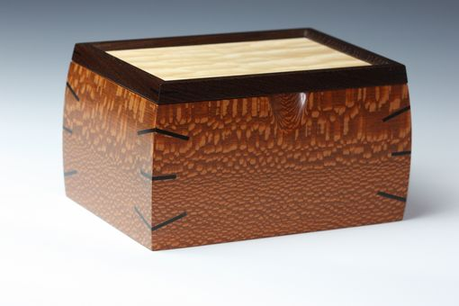 Custom Made Leopardwood  Box