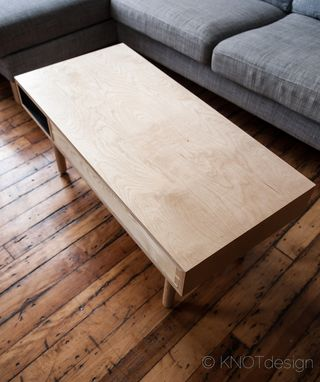 "Custom Made ""The Mod"" Coffee Table."