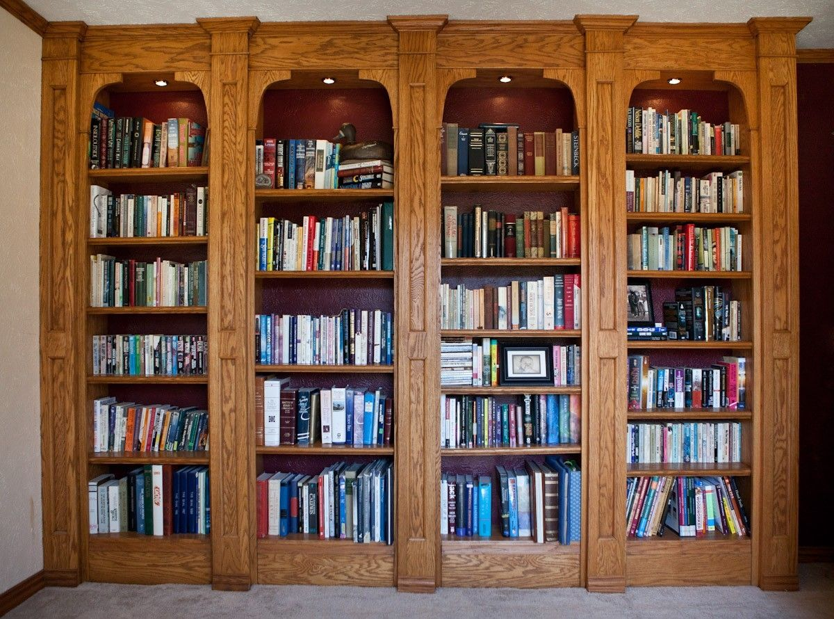 plans pin space saving bookshelves solid bookshelf oak bookcase