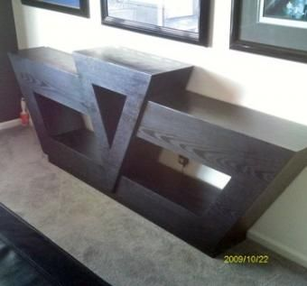 Hand Made Art Deco Style Buffet Table By Kreyton Guthrie Design