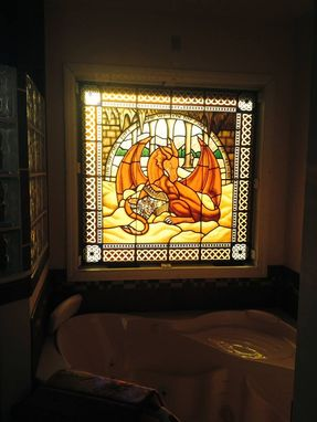 Custom Made Pictorial Stained Glass Of Any Complexity