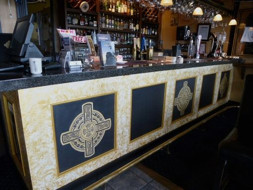 Custom Made Custom Canvas Mural Project For Irish Pub