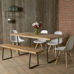 rustic dining tables  custommade, Kitchen design
