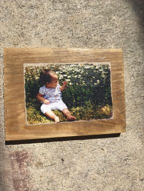 Custom Made Photo Transfer On Wood!  Any Size- From Magnets To Posters!