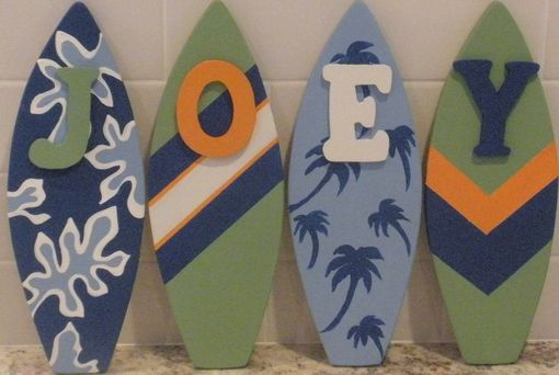 Custom Made Decorative Surfboard Wall Signs And Decor