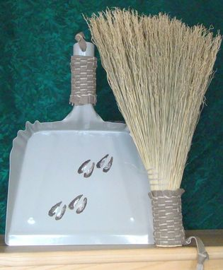 Custom Made Whisk Broom & Dustpan Toolset