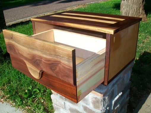 Custom Made Floating Nightstand, Floating Drawer, Floating Shelf, Floating Shelves, Live Edge Drawer